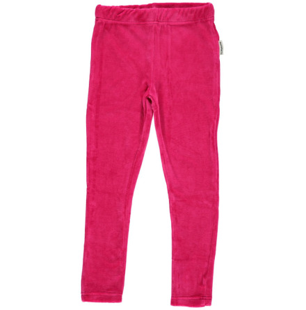 Maxomorra Leggings Velour Cerice