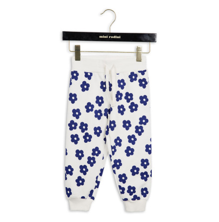 Mini Rodini Blossom Sweatpants Off White