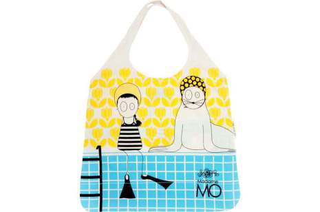 Madame Mo - Shoppingkasse Swimmingpool
