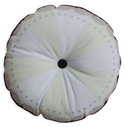 Frank & Poppy Magic Wheel Cushion Mint