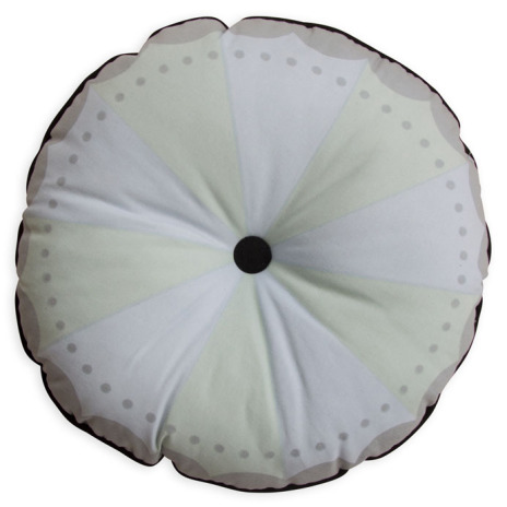 Frank & Poppy Magic Wheel Cushion Mint