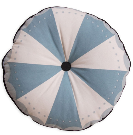 Frank & Poppy Magic Wheel Cushion Petrol