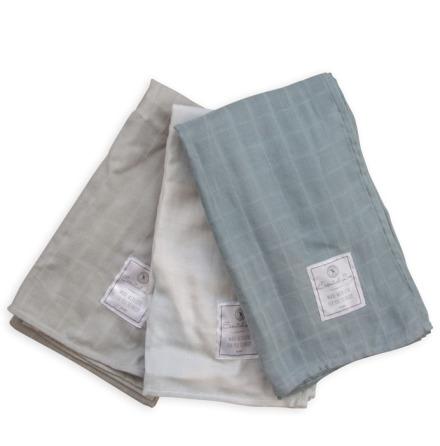Frank & Poppy Muslin Blanket 3st Petrol