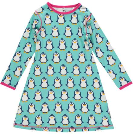 Maxomorra Dress LS Penguin