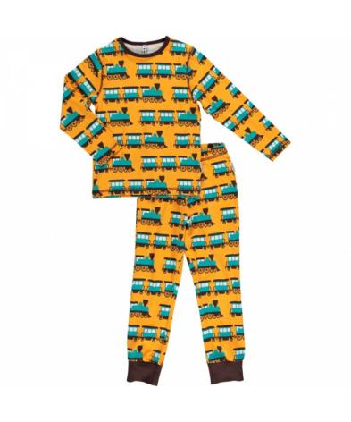 Maxomorra Pyjamas Set LS Train