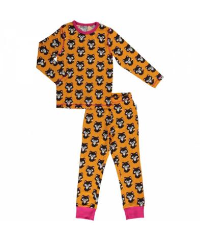 Maxomorra Pyjamas Set LS Cat