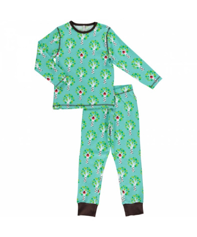 Maxomorra Pyjamas Set LS Tree