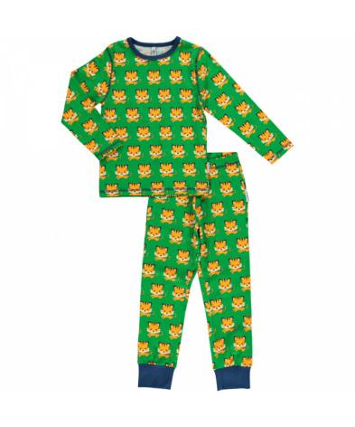 Maxomorra Pyjamas Set LS Tiger