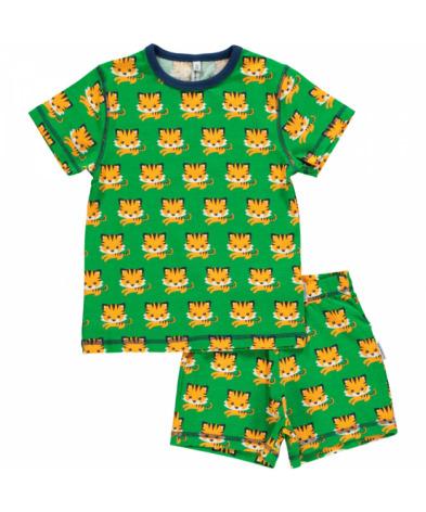 Maxomorra Pyjamas Set SS Tiger