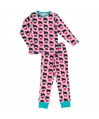 Maxomorra Pyjamas Set LS Doll