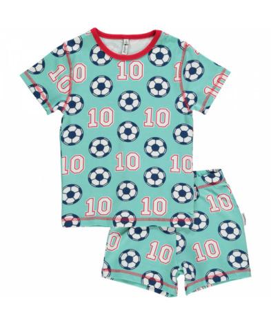 Maxomorra Pyjamas Set SS Football