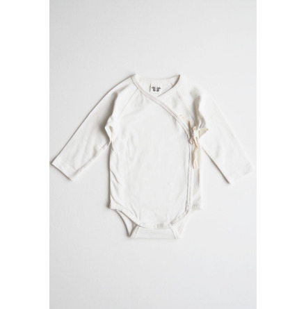 By Heritage Elna Wrap Body Solid Offwhite