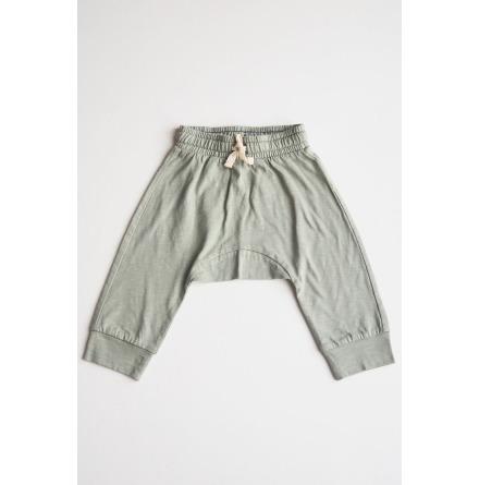 By Heritage Sixten Trousers green slub
