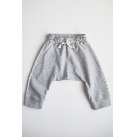 By Heritage Sixten Trousers Grey Melange