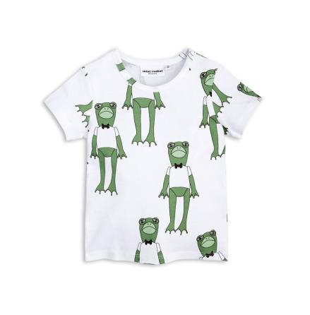 Mini Rodini Frogs SS Tee Green