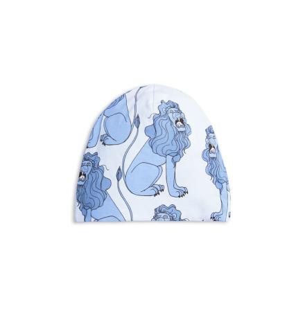 Mini Rodini Lion Beanie Light Blue