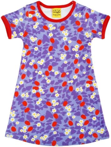 Duns Dress Strawberry Purple