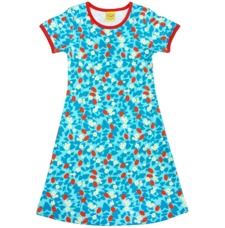 Duns Dress Strawberry Blue
