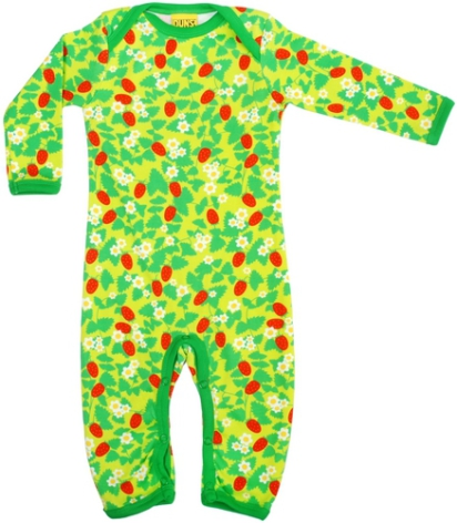 Duns Pyjamas Strawberry Green
