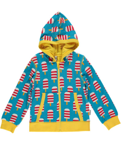 Maxomorra Cardigan Hood Ice Cream