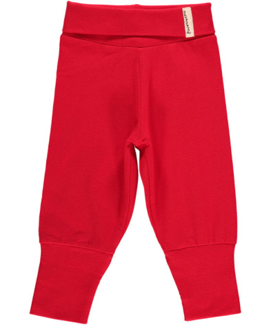 Maxomorra Babypants Red