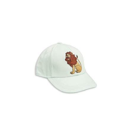 Mini Rodini Lion Cap Light Green