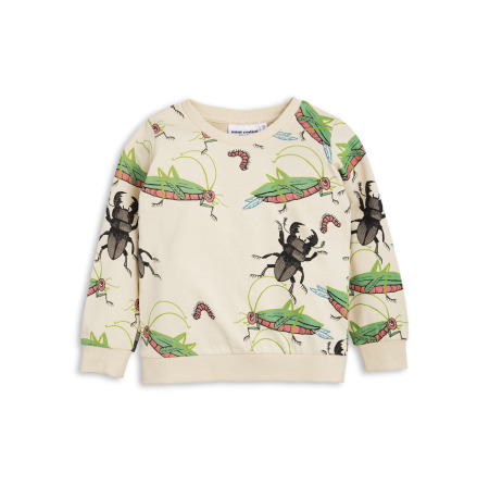 Mini Rodini Insects Sweatshirt Beige