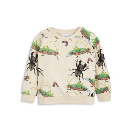 Mini Rodini Insects Sweatshirt Beige