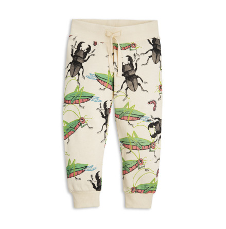 Mini Rodini Insects Sweatpants Beige