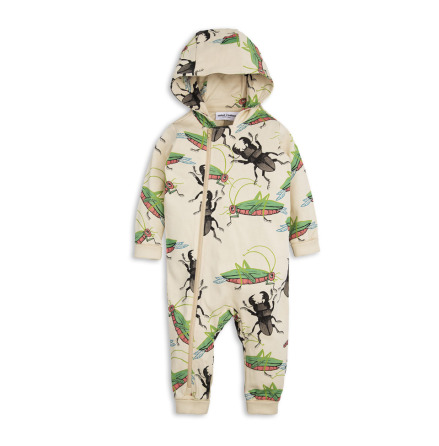 Mini Rodini Insects Onsie Beige