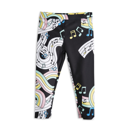Mini Rodini Melody Fancy Leggings Black