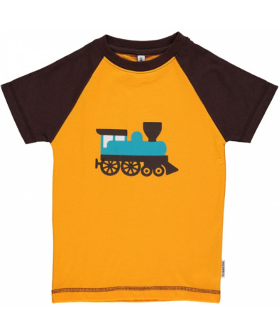 Maxomorra Top SS Print Train