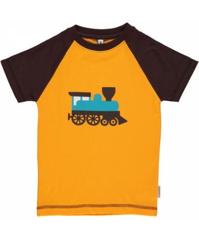 Maxomorra Top SS Print Train