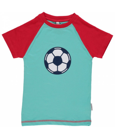 Maxomorra Top SS Print Football