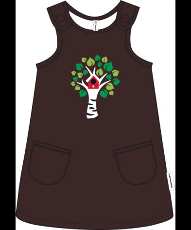 Maxomorra Dress Embroid Tree