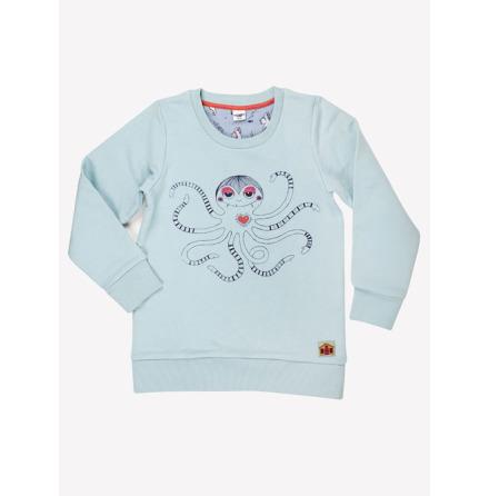 Modeerska Huset Sweater Hello Squid