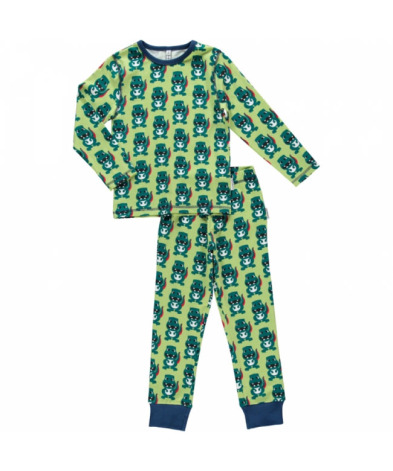 Maxomorra Pyjamas Set LS Dino