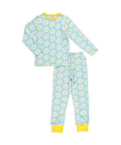 Maxomorra Pyjamas Set LS Flower