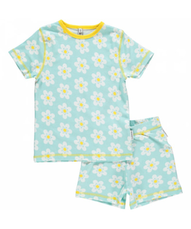 Maxomorra Pyjamas Set SS Flower