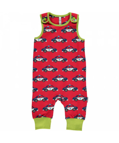 Maxomorra Playsuit Police Car