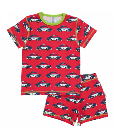 Maxomorra Pyjamas Set SS Police Car