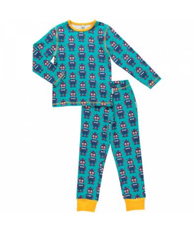 Maxomorra Pyjamas Set LS Robot