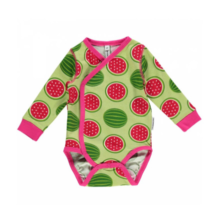 Maxomorra Wrap Body LS Watermelon