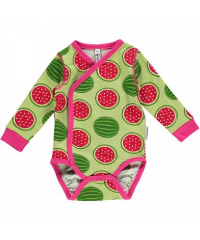 Maxomorra Wrap Body LS Watermelon