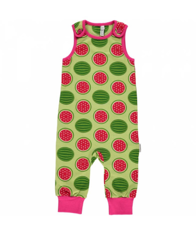 Maxomorra Playsuit Watermelon