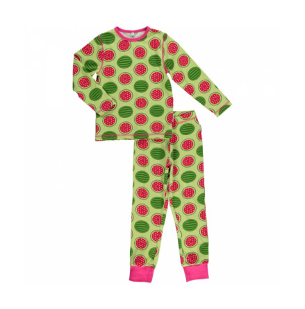 Maxomorra Pyjamas Set LS Watermelon