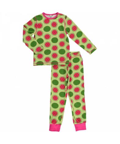 Maxomorra Pyjamas Set LS Watermelon