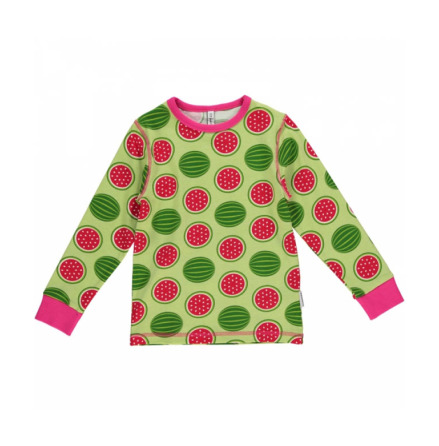 Maxomorra Top LS Watermelon