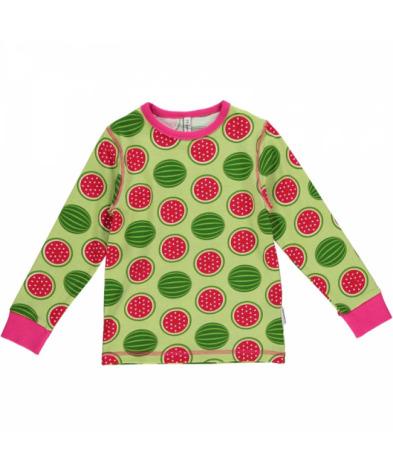 Maxomorra Top LS Watermelon