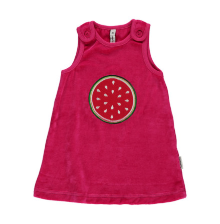 Maxomorra Dress Embroid Watermelon